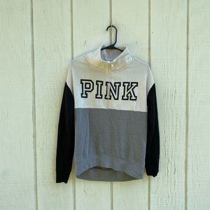 Pink by Victoria's Secret pull over sweatshirt